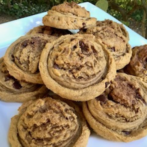 Pumpkin Chocolate Chip Shookies Cookie